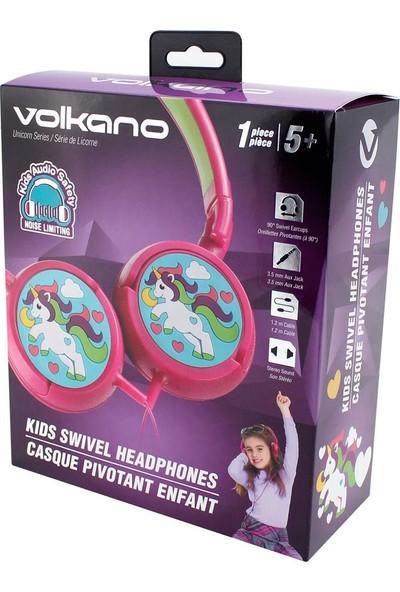 Volkano Unicorn Kulak Üstü Çocuk Kulaklığı