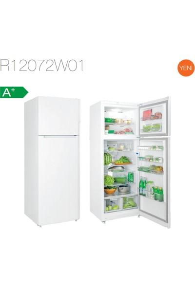 Silverline R12072W01 Beyaz 504 Lt A+ Çift Kapılı Buzdolabı