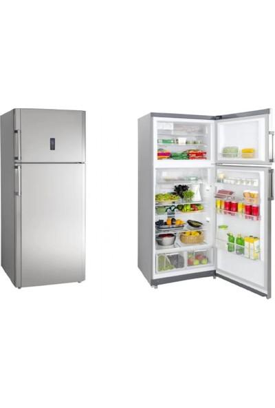 Silverline R12071X01 Inox 507 Lt A+ Kombi Tipi Buzdolabı