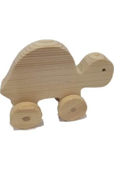 Filiz Ahşap Oyuncak Ahşap Kaplumbağa
