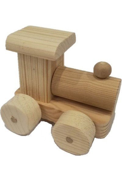 Filiz Ahşap Oyuncak Ahşap Tren