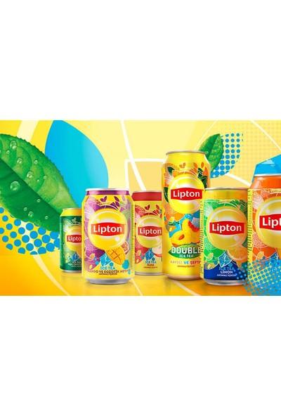 Lipton Ice Tea Şeftali Kutu Içecek 330 ml x 24 Adet