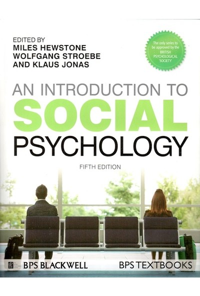 Blackwell An Introduction To Social Psychology