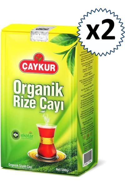 Çaykur Organik Rize Çayı 500 gr 2'li