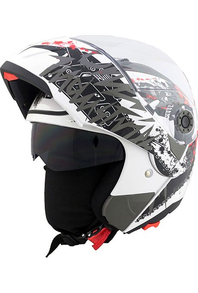 Vexo Sr-X Pharmacist Motosiklet Kask XL