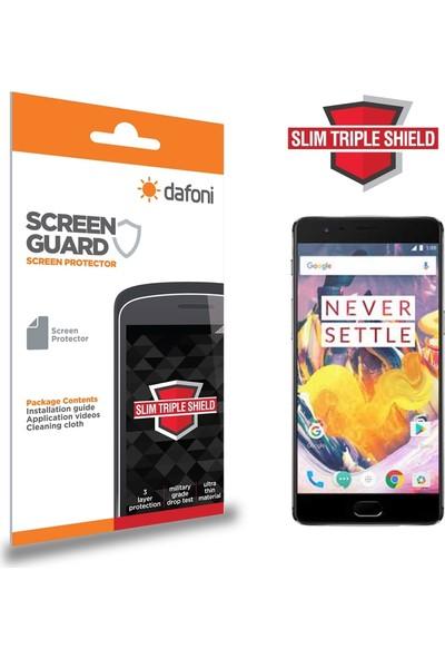 Dafoni OnePlus 3T Slim Triple Shield Ekran Koruyucu