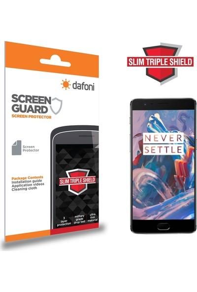 Dafoni OnePlus 3 Slim Triple Shield Ekran Koruyucu