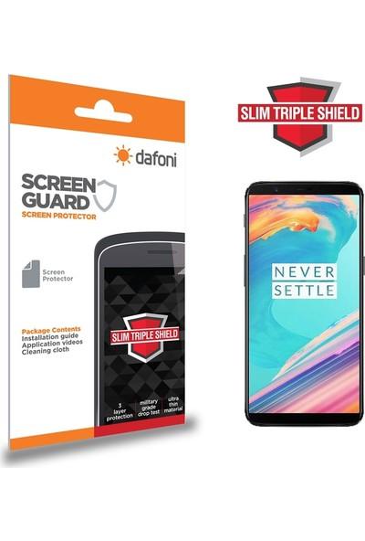 Dafoni OnePlus 5T Slim Triple Shield Ekran Koruyucu
