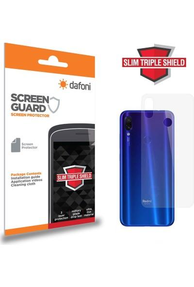 Dafoni Xiaomi Redmi Note 7 Slim Triple Shield Arka Gövde Koruyucu
