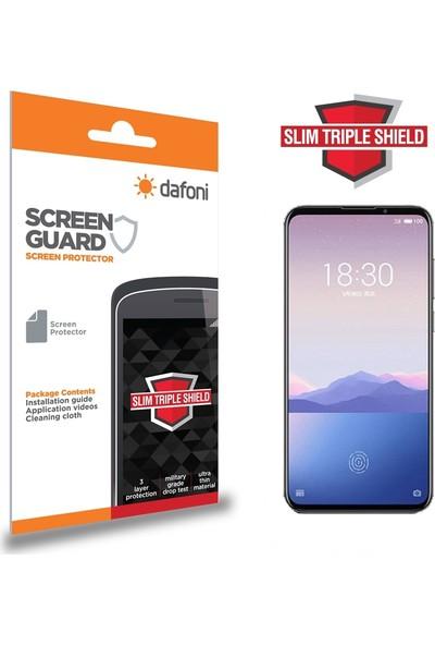 Dafoni Meizu 16XS Slim Triple Shield Ekran Koruyucu