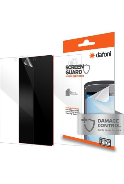 Dafoni Samsung Galaxy Note 10 Plus Ön + Arka Darbe Emici Full Ekran Koruyucu Film