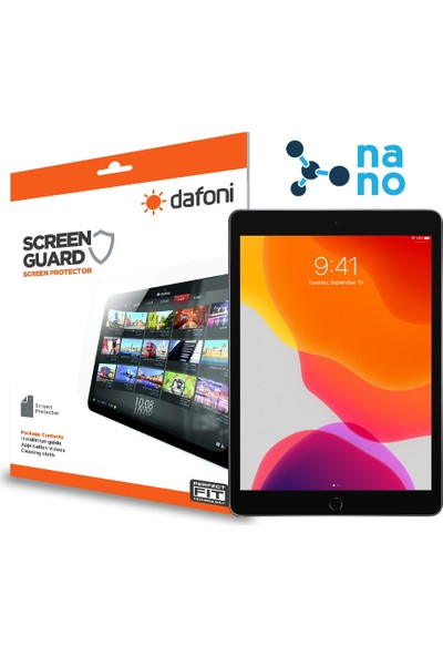 Dafoni Apple iPad 10.2 Nano Glass Premium Tablet Cam Ekran Koruyucu