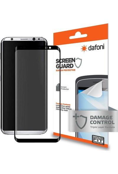 Dafoni Samsung Galaxy S8 Plus Curve Mat Darbe Emici Full Ekran Koruyucu Film