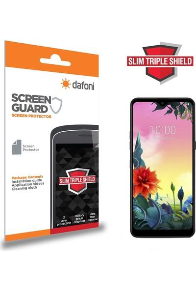 Dafoni LG K50S Slim Triple Shield Ekran Koruyucu
