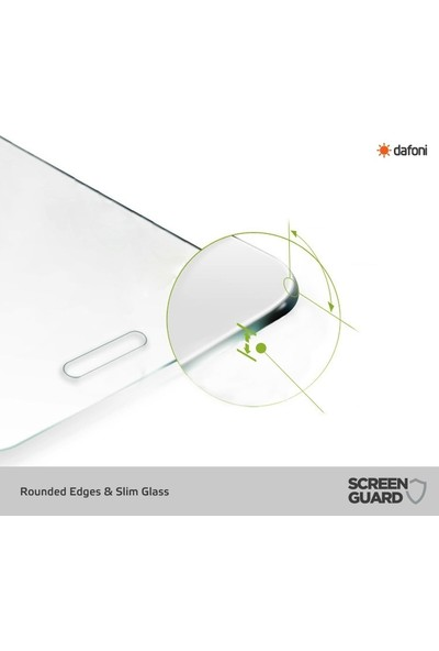 Dafoni Alcatel 3X 2019 Tempered Glass Premium Cam Ekran Koruyucu