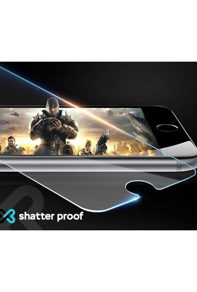 Eiroo Oppo Reno2 Z Tempered Glass Cam Ekran Koruyucu