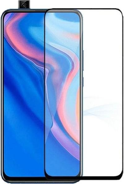 Eiroo Huawei Y9 Prime 2019 Curve Tempered Glass Full Mat Cam Ekran Koruyucu
