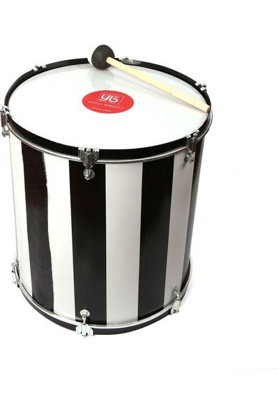 Samba Maç Davulu Siyah-Beyaz