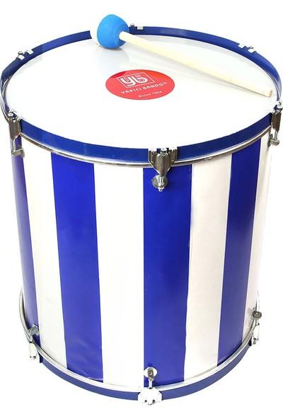 Samba Maç Davulu Mavi-Beyaz