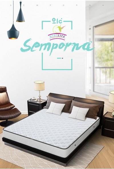 Midilife Semporna Yaylı Yatak Lüx Cotton Kumaşlı Yaylı Yatak 40 x 80 cm