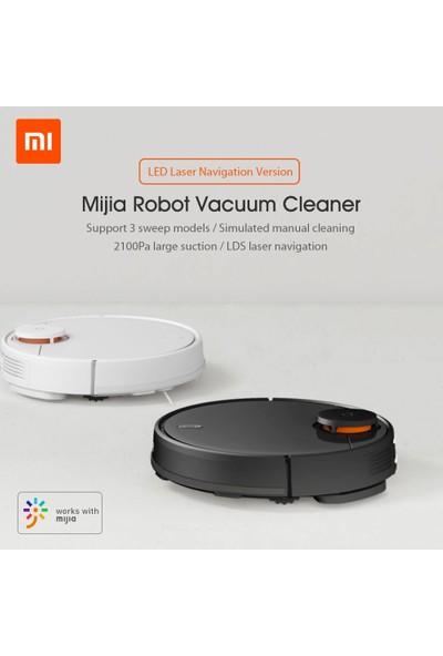 Xiaomi Mija Akıllı Robot Süpürge 2000Pa Siyah (İthalatçı Garantili)
