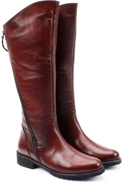 Gön Deri Kadın Çizme 44568