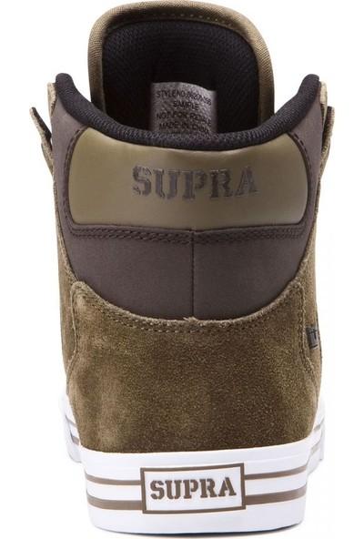 Supra Vaider Olive Demit White Ayakkabı