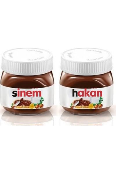 Nutella İsme Özel 2 Adet 25 gr