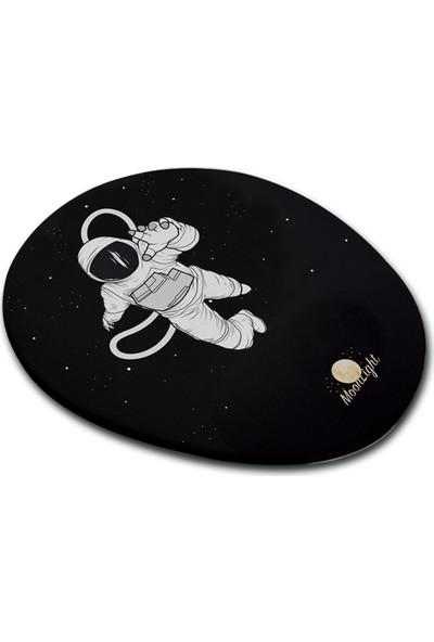 Moonlight Astronot Bilek Destekli Mouse Pad