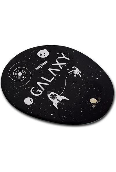 Moonlight Galaxy Bilek Destekli Mouse Pad