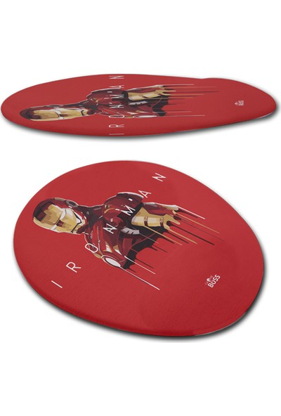 Gameboss Ironman Bilek Destekli Mouse Pad