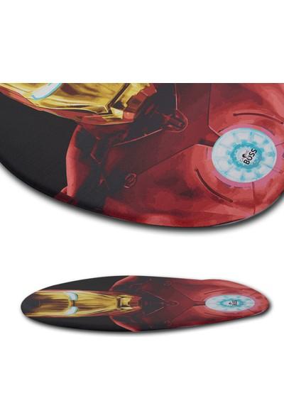 Gameboss Iron Man Bilek Destekli Mouse Pad