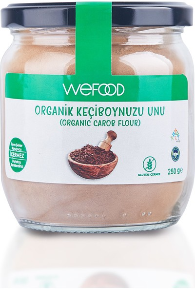 Wefood Organik Keçiboynuzu Unu 250 gr
