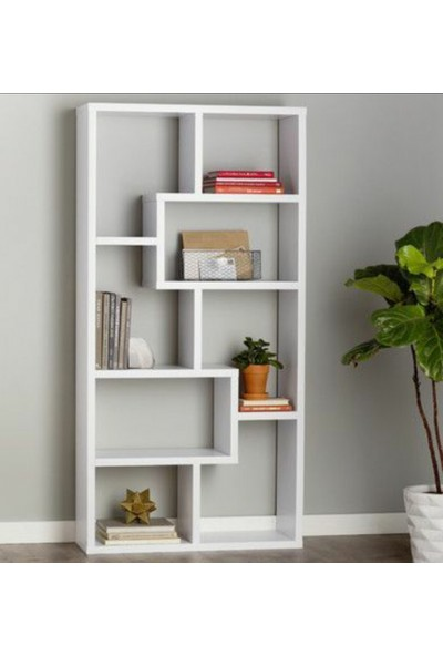 Zerka Concept Dekoratif Ev ve Ofis Kitaplık Raf Ünitesi