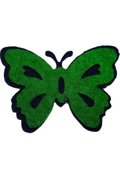 Dünya Hediye 4,5 cm Keçe Yeşil 10'lu Paket