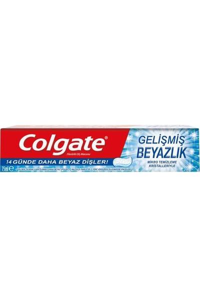 Colgate Gelişmiş Beyazlık 75 ml 3 Adet