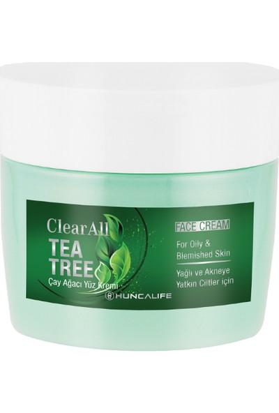 Huncalife Clear All Çay Ağaçlı Yüz Kremi 40