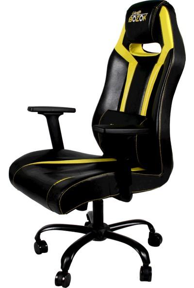 Gamer Bozok Sarı Siyah Oyuncu Koltuğu