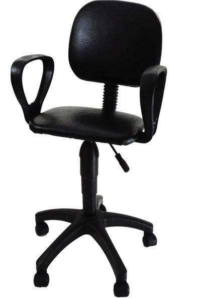 Aym Sekreter Çalışma ve Bilgisayar Koltuğu / Siyah