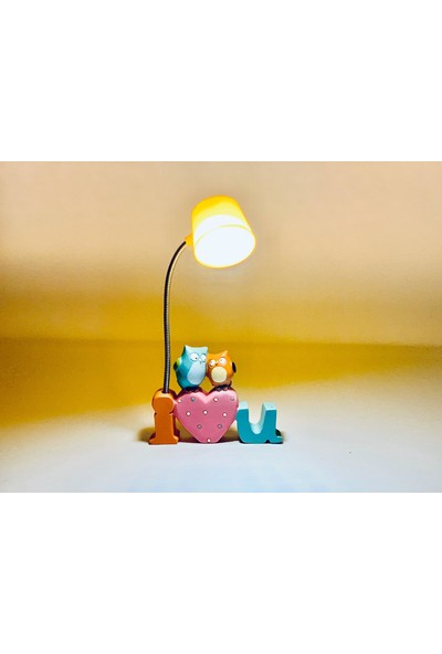 Enka Hediyelik Işıklı Baykuş Love Biblo