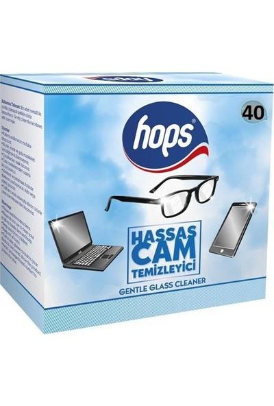 Hops Gözlük Camı Temizleme Mendili 40'lı