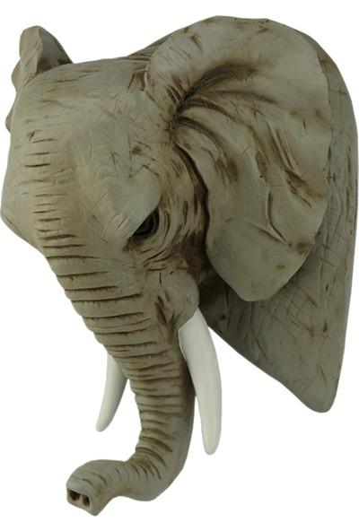 Hunga Fil Kafası Duvar Dekoru