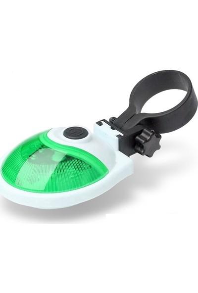 Tvet 5 Ledli Yeşil Bisiklet Lambası SK002708