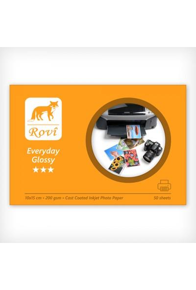 Rovi Everyday Parlak Fotoğraf Kağıdı - 200Gsm - 50Yp - 10X15cm