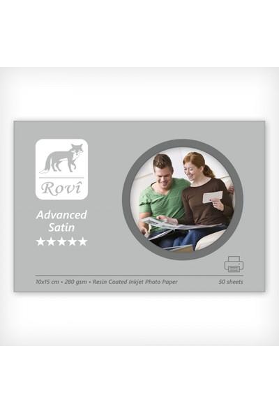 Rovi Advanced Satin Fotoğraf Kağıdı - 280Gsm - 50Yp - 10X15cm