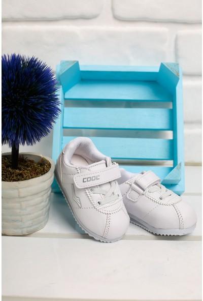 Kiko K-41 Günlük Yürüyüş Koşu Erkek/kız Çocuk Spor Ayakkabı Beyaz 27
