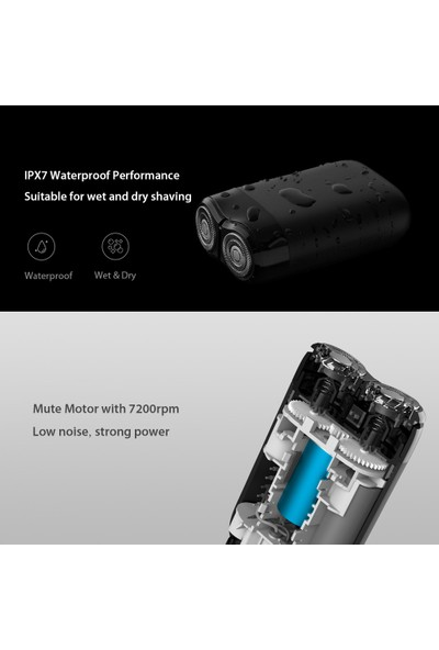 Xiaomi Elektrikli Tıraş Makinesi (İthalatçı Garantili)