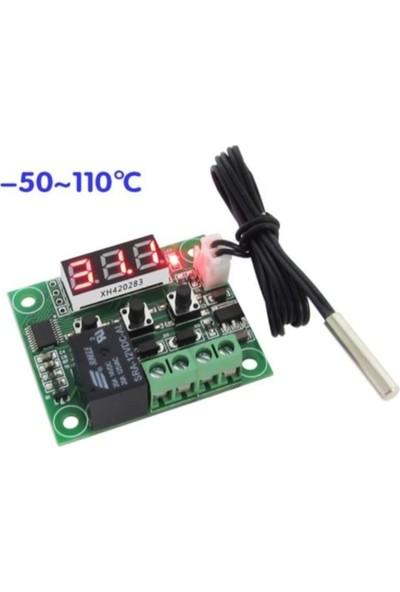 Komponentci Kuluçka Termostatı Akvaryum Buzdolabı Dijital Termostat - W1209