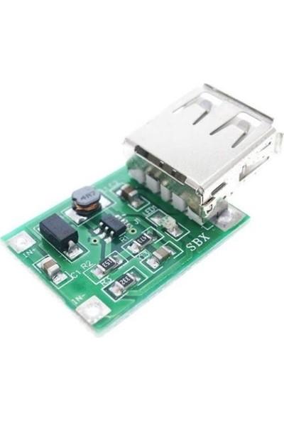 Komponentci Mini Dc-Dc 0.9V-5V 5V 600A Yükseltici USB Şarj Modülü