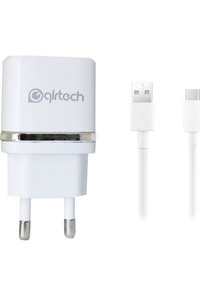Glr Tech 2.1A Şarj Cihazı + Type-C Kablo